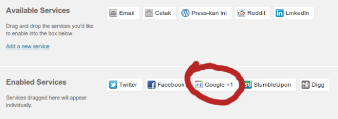 Social Sharing Button on WordPress.com