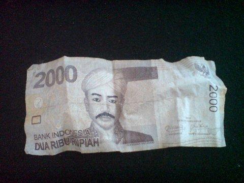 Coret-Coret Uang Kertas