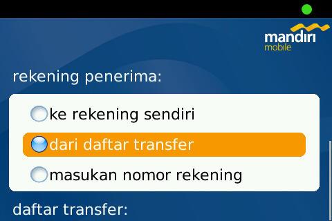 Transfer Dari Mandiri Ke Bca Via Mobile Banking