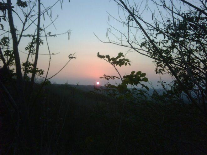 Sunset di Bukit Sodong