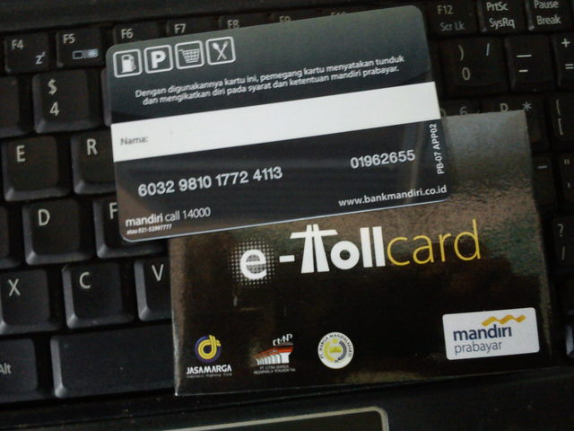 Mandiri e-Toll Card