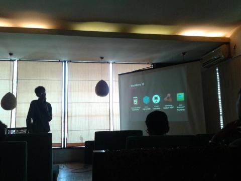 @ lyxluna at Blackberry 10 Jam  Yogyakarta