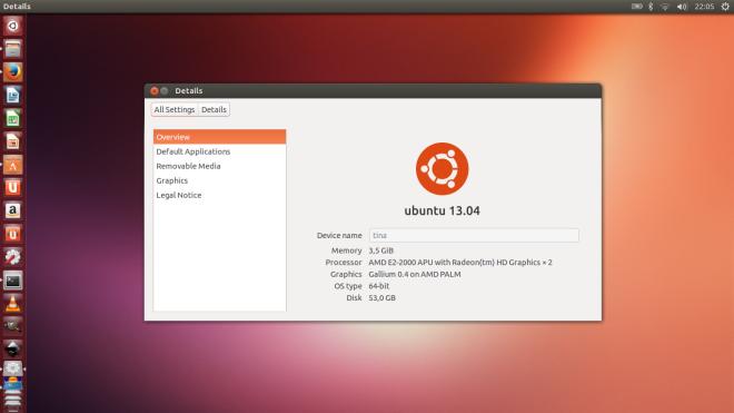ubuntu 13.04 fresh