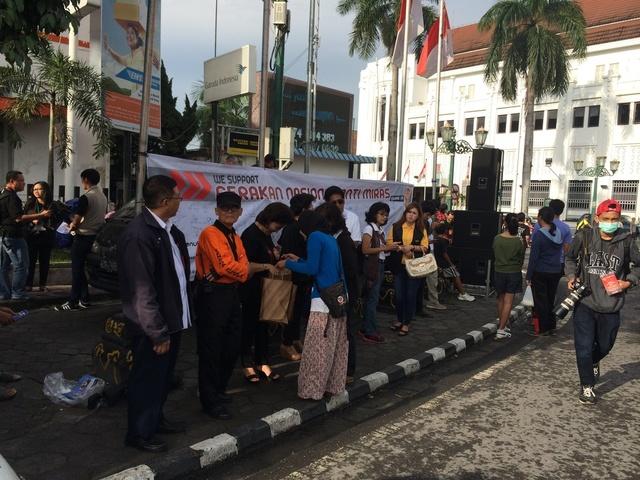 Deklarasi Gerakan #AntiMiras chaper Yogyakarta