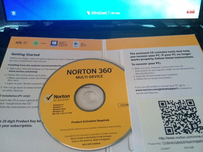 Norton 360 Multi Device CD
