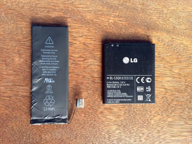 Ganti Batere iPhone 5s di Jogja
