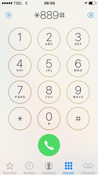 Cara Cek Sisa Kuota Kartu Halo Telkomsel melalui Menu USSD
