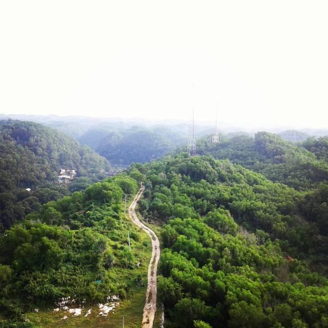 jarwadi lanscape utara Menara Mercusuar Tanjung Baron