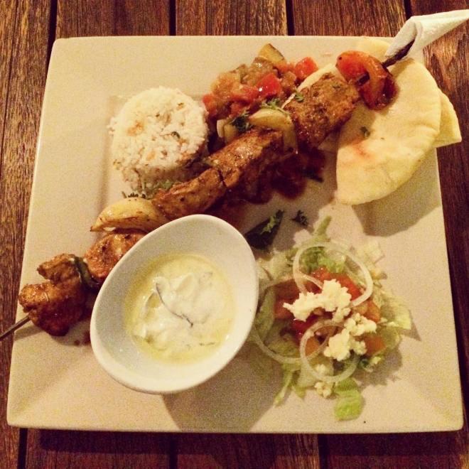 Chicken Shish Kebab di Mediterranea Resto by Kamil Tirtodipuran Jogja