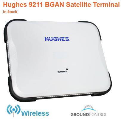 hughes 9211 BGAN Satellite Terminal
