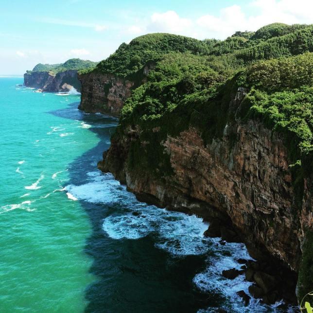 Laut Bakah dan Laut Pecis Surga Para Pemancing Tebing-laut-pecislaut-begah-gunungkidul
