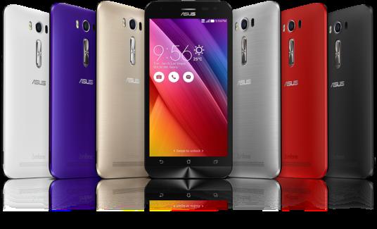 ASUS Zenfone 2 fully plastic material