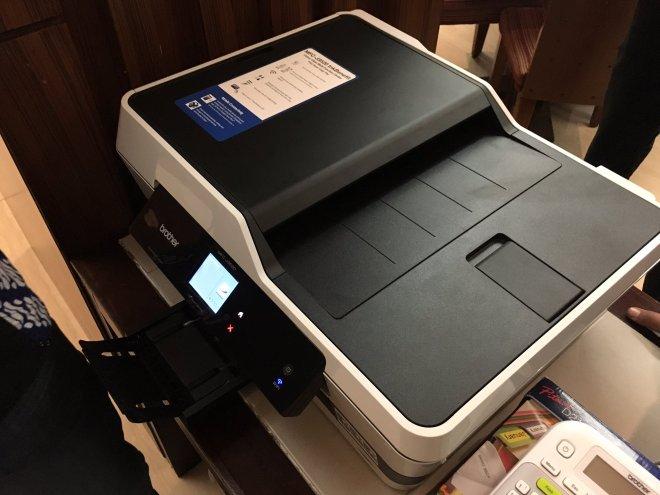 Salah Satu Multifunction Printer dari Brother yang mendukung Multi User Setup (foto oleh Bagus Gowes)