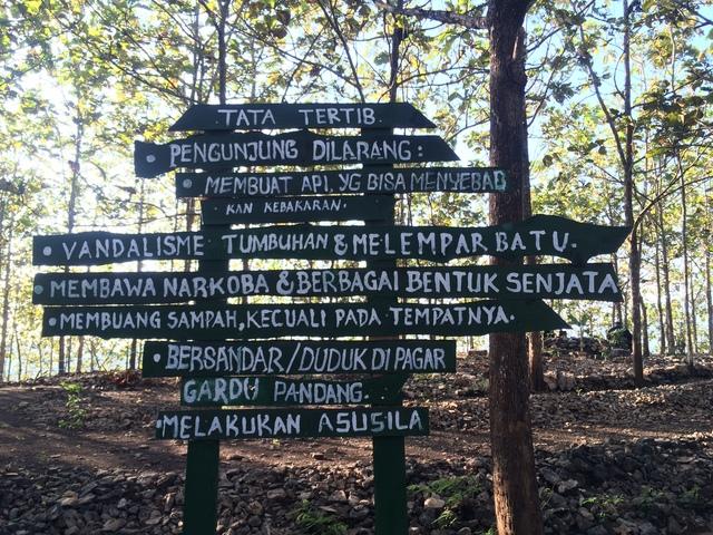 Tata Tertib Pengunjung Puncak Panguk BantulTata Tertib Pengunjung Puncak Panguk Bantul