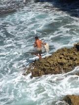Pantai Jogan Purwodadi Tepus Gunungkidul, Pria Penjaring Hati