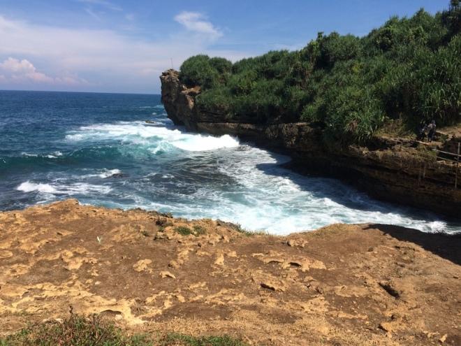 Kokoh di Pantai Jogan Purwodadi Tepus Gunungkidul