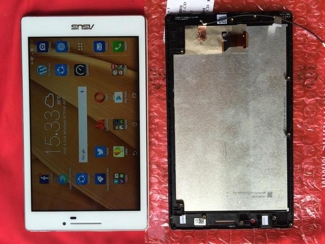 ASUS Zenpad C 7.0 dan LCD nya yang rusak