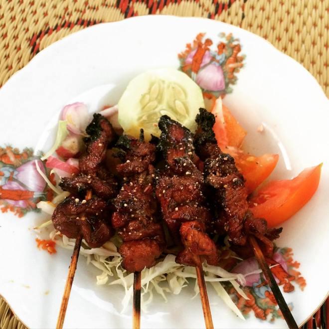 "Sate Kambing ""Mbah Darmo"" Taman Kuliner Wonosari"