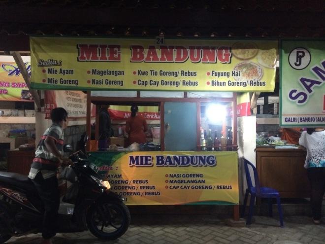 Taman Kuliner Wonosari Gunungkidul: Mie Bandung