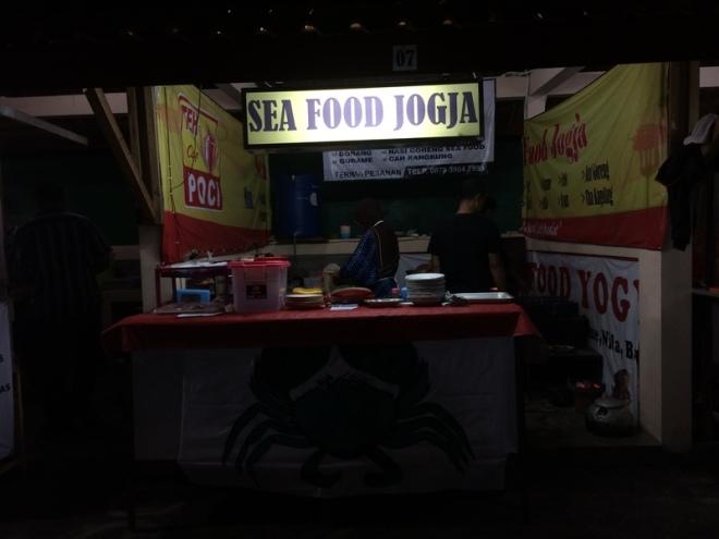Taman Kuliner Wonosari Gunungkidul: Sea Food Jogja
