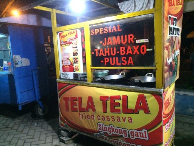 Taman Kuliner Wonosari Gunungkidul: Tela Tela Fried Cassava Singkong Gaul
