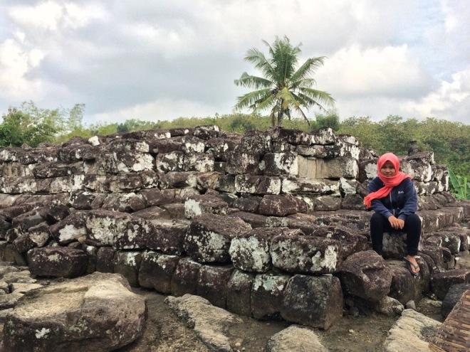 Situs Candi Risan yang bersih dan terawat