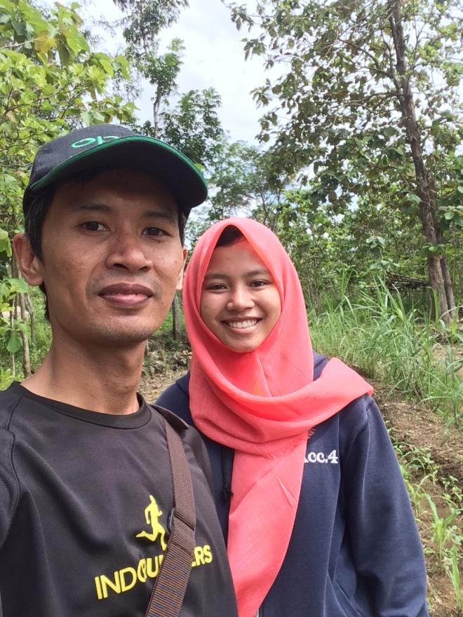 Selfie di Tengah Ladang