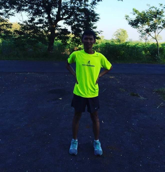 Syawal Run, I am back to the road