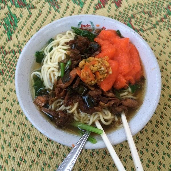 Taman Kuliner Wonosari: Mie Ayam
