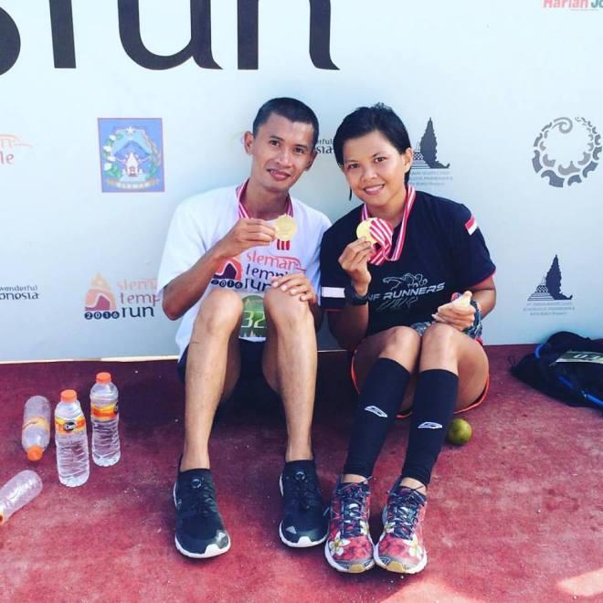 Finisher Medal Sleman Temple Run 2016