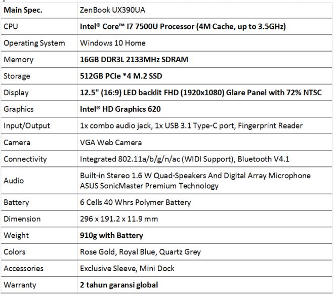 tech-spec-zenbook-ux390ua