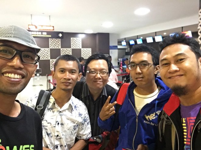 Blogger dari Jogja Siap Meriahkan Zenvolution di BNCC Nusa Dua Bali Foto : Bagus Gowes