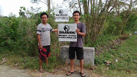 Dilarang Menembak/Berburu Burung dan Hewan Liar di Desa Grogol