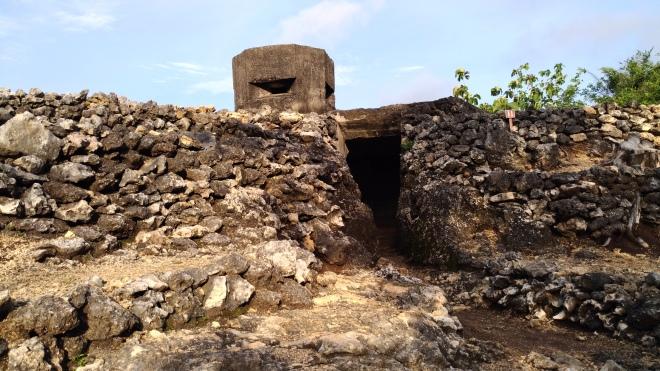Gua Jepang (Bunker Peninggalan Tentara Jepang) di Pundong - Bantul