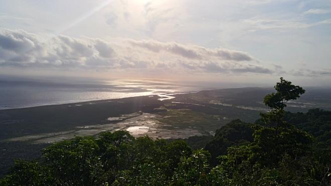 Puncak Bukit Kahyangan di Kompleks Gua Jepang  - Pundong Bantul