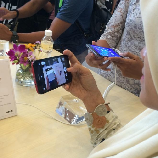 Menjajal Zenfone 3 Max di Zenvolution Event di Bali Nusa Dua Convention Center