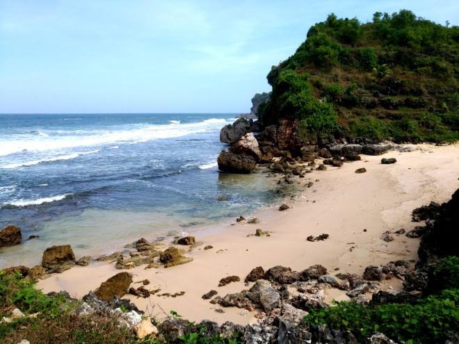 Pantai Butuh Saptosari Gunungkidul