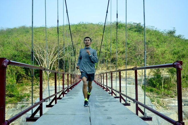 Runcation at Jembatan Wanagama - Gunungkidul
