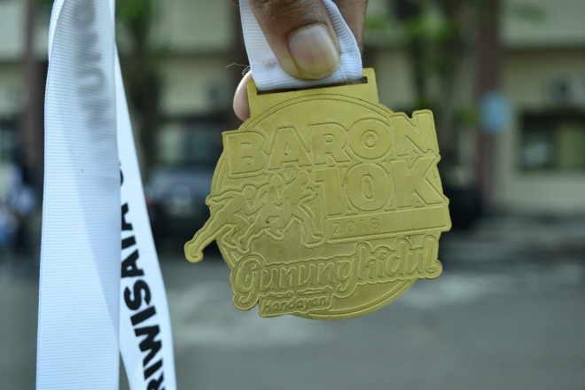 baron 10k medal