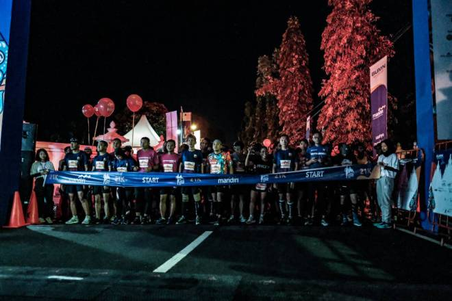 Mandiri Jogja Marathon Start 2018