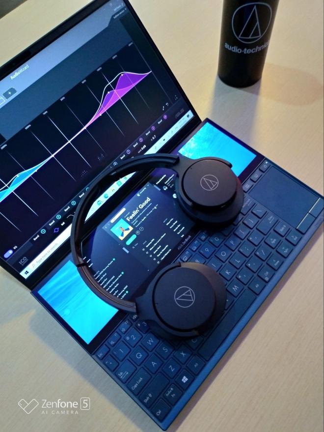 ATH-ANC500BT on Zenbook UX481FL