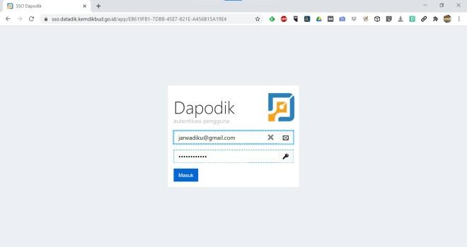 login sp.dapodik