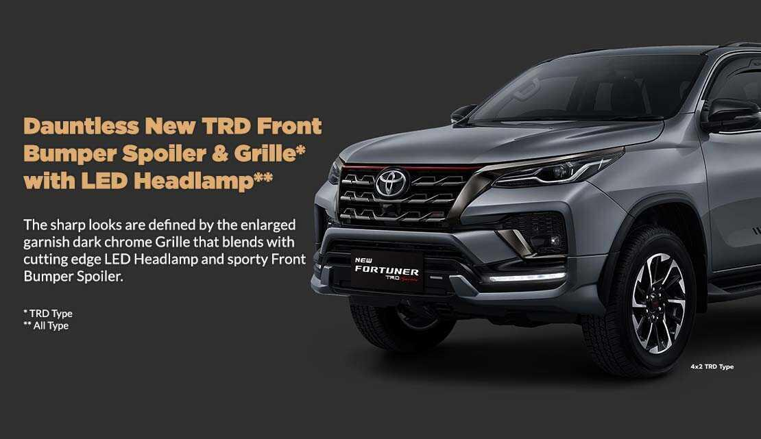Toyota Fortuner 4 X 2 Pilih Matic Atau Manual Gadget Running Travelling Light